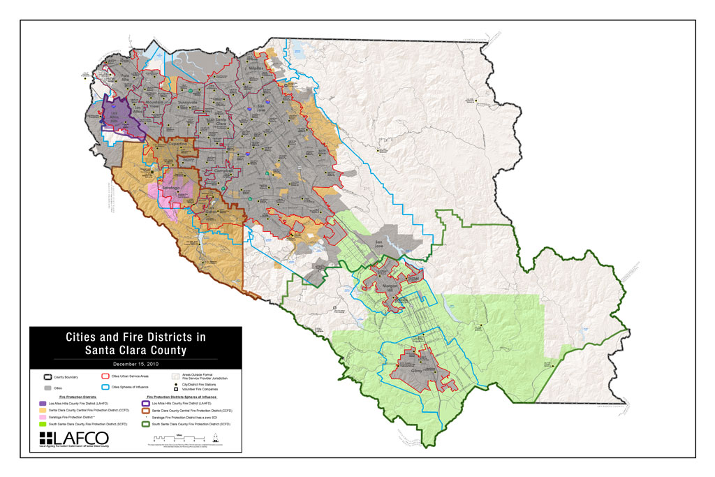 Maps of Cities and Fire Districts (Dec. 2010)